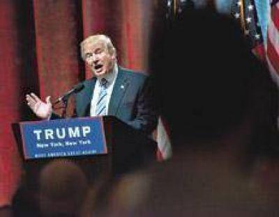 A Trump lo votan pero no lo acompañan