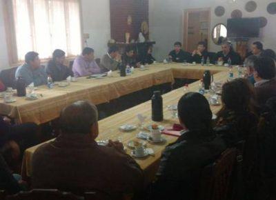 El Vicegobernador y el ministro de Gobierno visitaron el Departamento San Mart�n