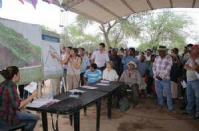 Reserva Grande: el Idach defendió el proceso de consulta para distribuir tierras