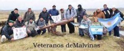 El fuerte reclamo de un ex combatiente de Malvinas al intendente y las autoridades municipales