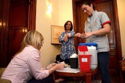 Ya se aplicaron más de 100 MIL de vacunas del Calendario Nacional