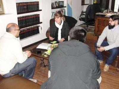 El intendente mantuvo encuentro institucional con el Ministerio de Trabajo de la Nación