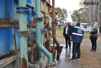 Analizan el estado y funcionamiento de la planta de agua de Villalonga