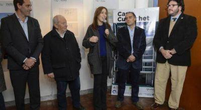 """Vidal destacó a la """"Casa Curuchet"""" por ser declarada """"patrimonio de la humanidad"""""""