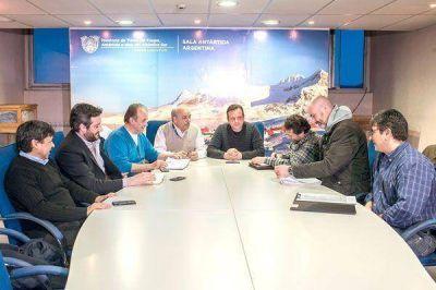 Funcionarios del Municipio y la Provincia se reunieron por el Cochocho