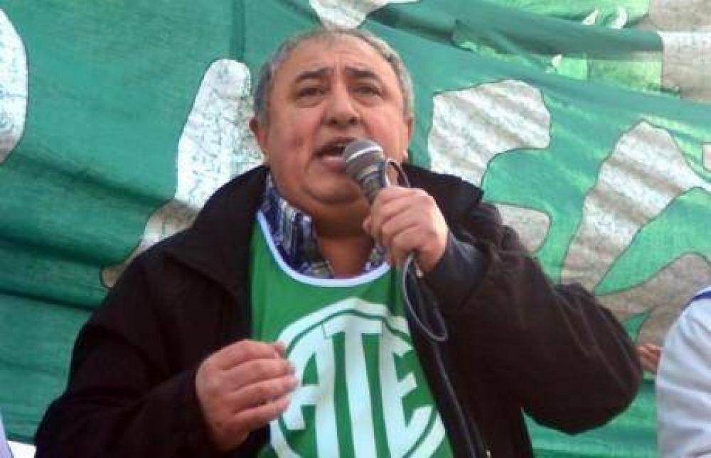 Aldo Capretti, de ATE, denunció falencias en hospitales de la provincia