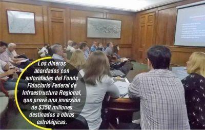 Colombi lidera gestiones por obras y el recupero de la coparticipación