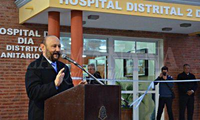 Quedó habilitado ayer el primer Hospital de Día de la provincia