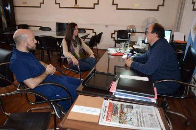 El Intendente se reunió con funcionarios del área de Salud de su gabinete