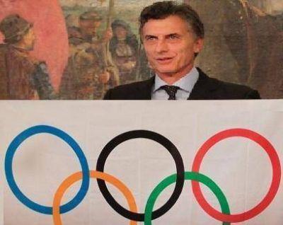 Macri viaja a los Juegos Olimpicos de Rio