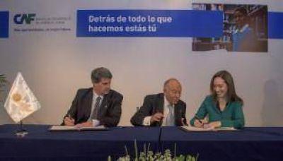 Larreta y Vidal avanzan en grandes obras con financiamiento del CAF