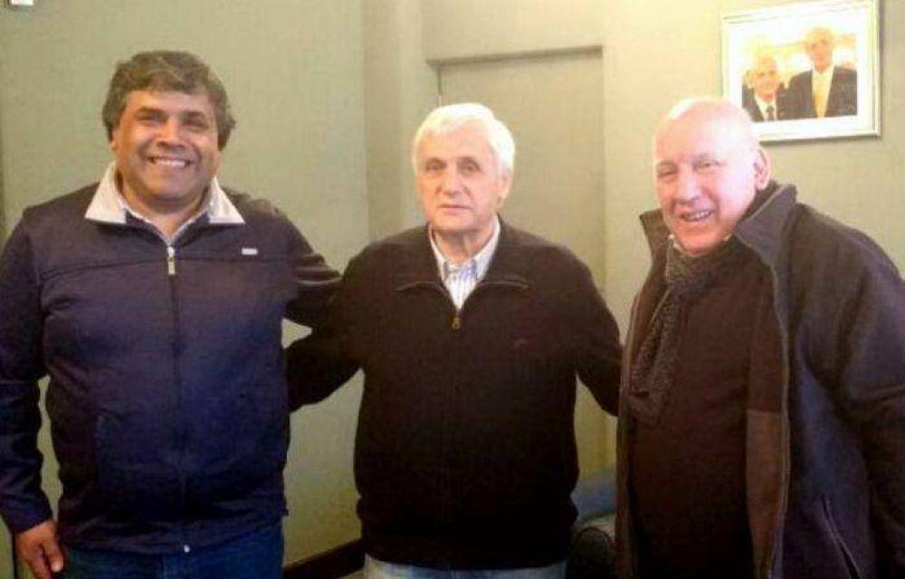 Oscar Ruggiero fue recibido por Antonio Caló en la sede de la UOM