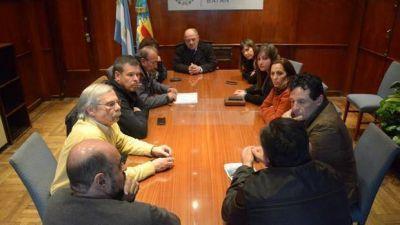 Arroyo se reunió con representantes del exfrigorífico Sadowa