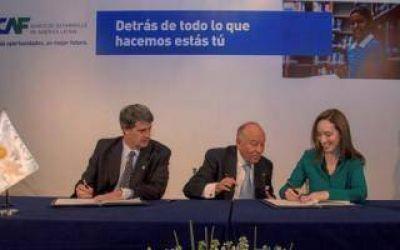 Vidal firmó el acuerdo para Planta Potabilizadora y obras en la Cuenca Río Luján