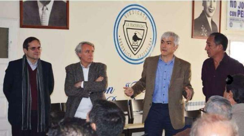 Funcionarios presentaron el Programa de Reactivación del sector a La Fraternidad