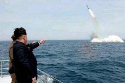 Corea del Norte lanzó 3 misiles balísticos y su actitud fue condenada