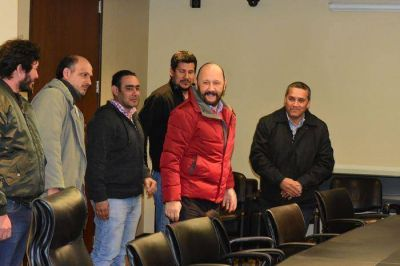 El gobernador Gildo Insfrán recibió a los funcionarios municipales