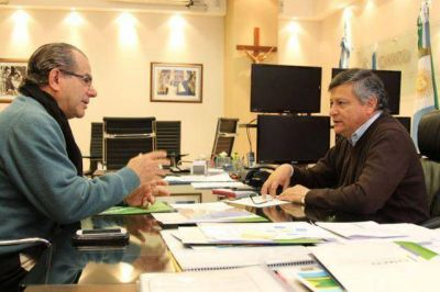 Agenda común entre Peppo y Cipolini para la llegada del ministro Dietrich