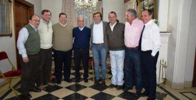 Salom�n particip� de una reuni�n de Intendentes con el Vicegobernador de la Provincia
