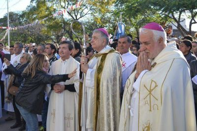 El nuncio apostólico destacó la fe del pueblo formoseño