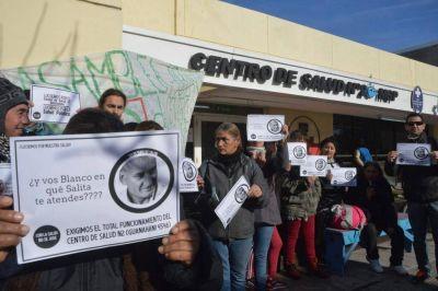 Nueva protesta en contra del cierre del centro de salud de Guanahani