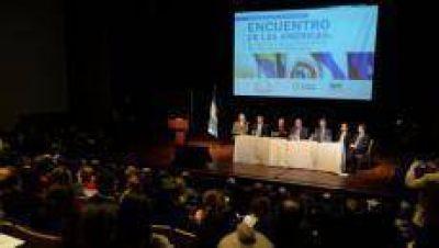Manzur encabezó el acto de inauguración del Encuentro de las Américas
