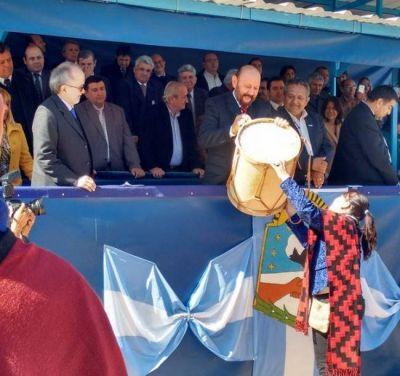 El gobernador compartió fiesta popular por el cumpleaños 86 de Ingeniero Juárez