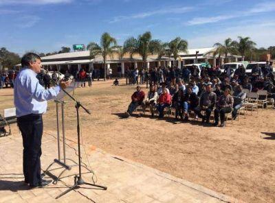 Peppo marcó el objetivo de llegar al 2019 con una provincia libre de chagas