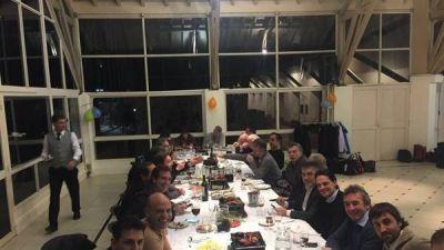 El Día del Amigo de Macri, con bufanda, Antonia y sobremesa de inflación e inversores