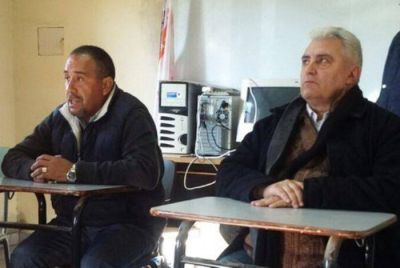 Daniel Díaz le dio con un caño a Agustín Cinto y a Santiago Bonifatti