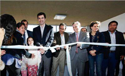 Inauguran una escuela y un Centro de Primera Infancia en La Caldera