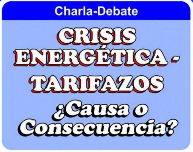 Rigane diserta este viernes sobre �Crisis Energ�tica y Tarifazos: �Causa o Consecuencia?