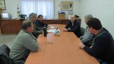 El intendente se reunió con representantes de la Cooperativa de Transporte