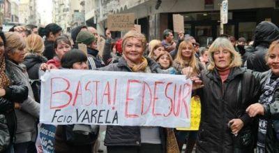 Edesur en la mira: En Florencio Varela, 32 mil viviendas sufrieron cortes en los �ltimos 12 d�as