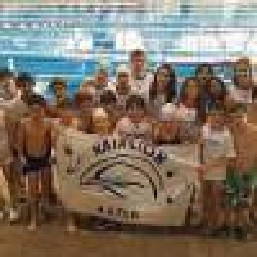 Integrantes del Equipo de Natación AEFIP Junín participaron de un torneo en el Club River Plate