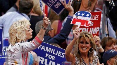 Trump promete ley, orden y una dura pol�tica antiinmigratoria