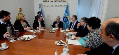 Artero coincide con Das Neves para que el bono provincial sea para obras