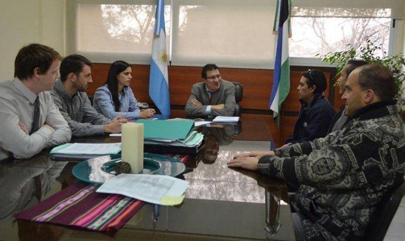 Dirigentes del Sindicato de Prensa se reunieron con el secretario de Trabajo Lucas Pica