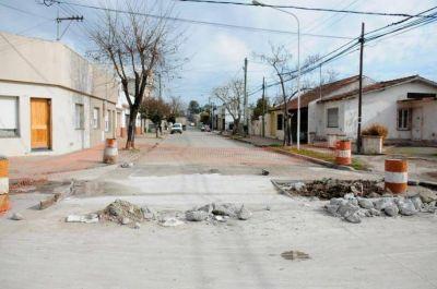 Múltiples obras de mejoramiento de infraestructura vial