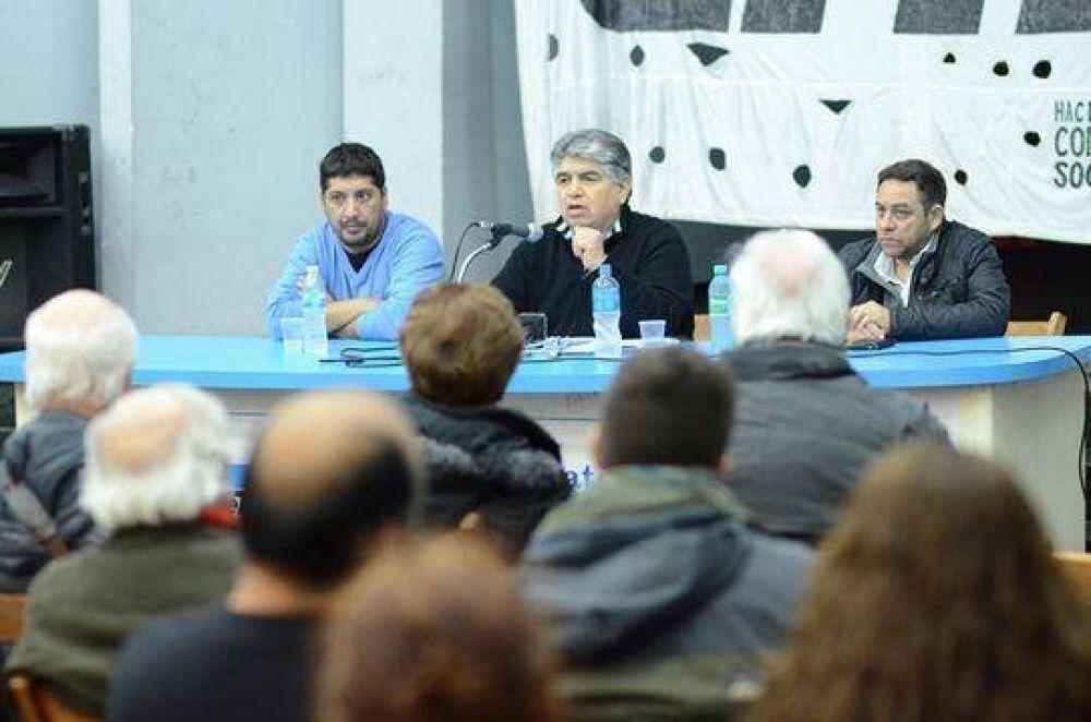 """""""Debemos enfrentar los tarifazos y también discutir el actual modelo energético"""""""