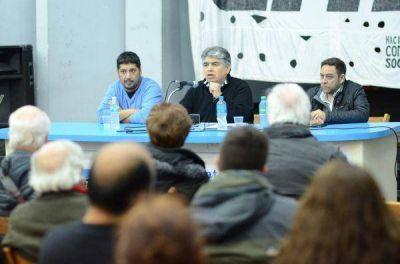 """Rigane: """"Debemos enfrentar los tarifazos y discutir el modelo energético"""""""