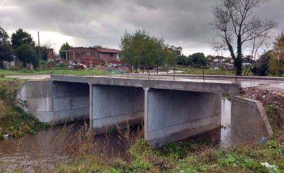 Solicitan obras complementarias en el Puente sobre el Arroyo La Tapera