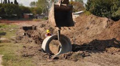 Se firmó la adjudicación de la primera etapa de la obra hidráulica de Desagües Pluviales para el Barrio Escribano