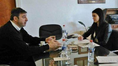 Luciani se reuni� con la Directora del Registro de las Personas