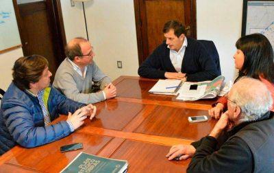 Renovaci�n Peronista se reuni� con el Intendente de Bol�var