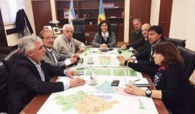 Santillán presentó la creación de la zona franca a la ministra Ortiz