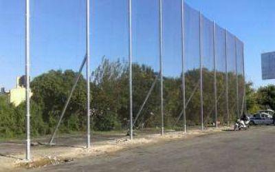 Colocaron vallas antivandálicas en la Autopista Buenos Aires-La Plata