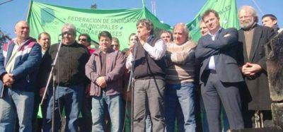Municipales volvieron a reclamar la plena aplicación de la ley de paritarias