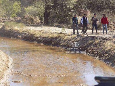 Ejecutan Plan de recuperaci�n de sistemas de riego en Tinogasta
