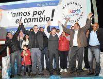 La elecci�n de Margarita junt� a dirigentes de FPV y del PRO